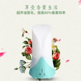 Taffware Air Humidifier Aromatherapy Night Light LED 60ml - HUMI H515 - White - 2