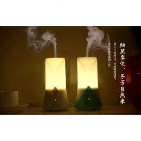 Taffware Air Humidifier Aromatherapy Night Light LED 60ml - HUMI H515 - White - 8