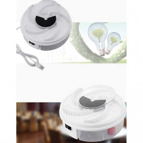 YEDOO Perangkap Elektrik Penangkap Lalat USB - YD-218 - White - 4