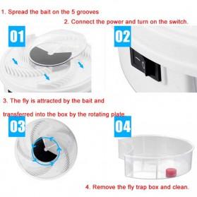 YEDOO Perangkap Elektrik Penangkap Lalat USB - YD-218 - White - 8