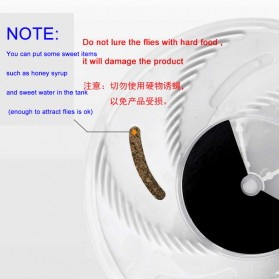 YEDOO Perangkap Elektrik Penangkap Lalat USB - YD-218 - White - 9
