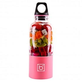 Botol Minum - Bingo Juicer Cup Botol Blender Elektrik 500ml - Pink