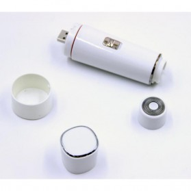 Electric Shaver Alat Cukur Bulu Halus Elektrik 4 in 1 - White - 7