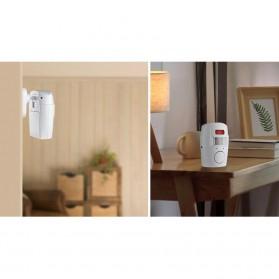 EMASTIFF Alarm Anti Maling Infrared PIR Sensor Gerak 2 Remote - YL105 - White - 7