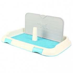 Toilet Pad Tray Latihan Kencing Anjing Kucing Training Pee - Blue