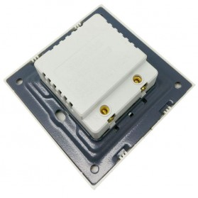 Stop Kontak Dinding 2 Port USB Wall Socket 3500MA - ES-USB-2 - Golden - 2