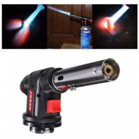 Firetric Kepala Gas Butane Multi Purpose Torch 1300 Celcius - WS-504C - Black