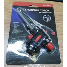 Firetric Kepala Gas Butane Multi Purpose Torch 1300 Celcius - WS-504C - Black - 7