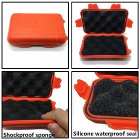 FervorFOX Emergency Survival Kit Multifunctional First Aid SOS Tools - J021 - Orange - 5