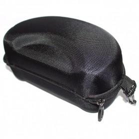 Hard Case EVA Kotak Kacamata Ski Goggles - HXH20010 - Black - 4