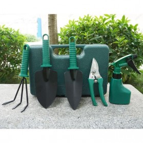 Set Peralatan Berkebun Multi Gardening Tool 5 in 1 - B121848 - Black/Green