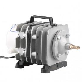 YUTING Pompa Aerator Kompresor Udara Aquarium 20W - ACO-001 - Silver Black