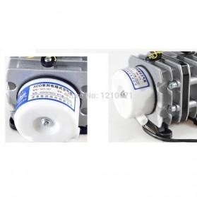 YUTING Pompa Aerator Kompresor Udara Aquarium 20W - ACO-001 - Silver Black - 3