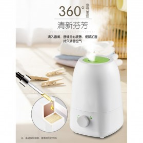 Taffware Air Humidifier Pelembab Udara Aromatherapy 4.2 Liter - HUMI X05 - White - 2