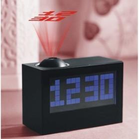 Jam Alarm Digital Proyektor Creative - HSD1137A - Black - 2