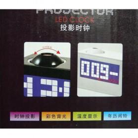 Jam Alarm Digital Proyektor Creative - HSD1137A - Black - 3