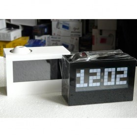 Jam Alarm Digital Proyektor Creative - HSD1137A - Black - 4
