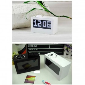 Jam Alarm Digital Proyektor Creative - HSD1137A - Black - 7
