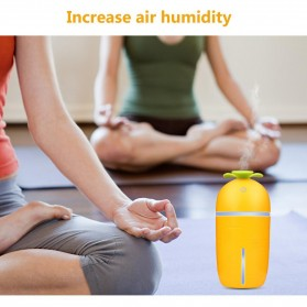 Taffware Air Humidifier Aromatherapy Night Pull Out Retractable 200ml with Night Light - HUMI H13 - White - 8