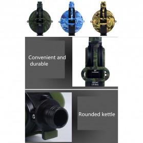 Yuanfeng Botol Minum Tentara Foldable Round Kettle dengan Kompas 580ml - SH-07 - Camouflage - 5