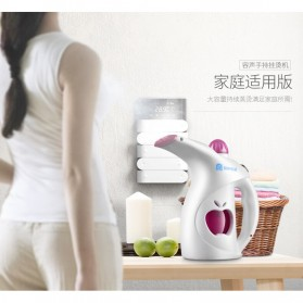 Setrika Uap Handheld Garment Steamer 200ml - HY115 - White - 4