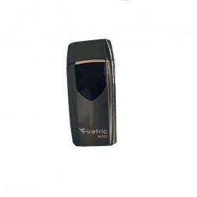 Firetric Korek Api Elektrik Heating Coil USB Lighter Finger Print - BK002 - Black - 3