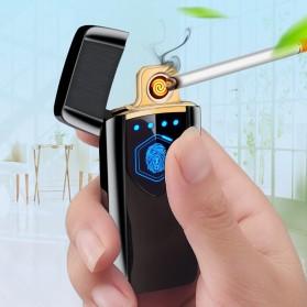 Firetric Korek Api Elektrik Heating Coil USB Lighter Finger Print - BK002 - Black - 5