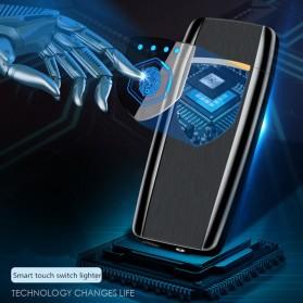 Firetric Korek Api Elektrik Heating Coil USB Lighter Finger Print - BK002 - Black - 8