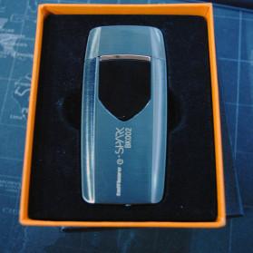 Firetric Korek Api Elektrik Heating Coil USB Lighter Finger Print - BK002 - Black - 10
