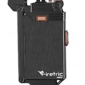 Firetric Korek Api Gas Elektrik Pulse Plasma Arc Lighter 2 in 1 - AB007 - Black - 2