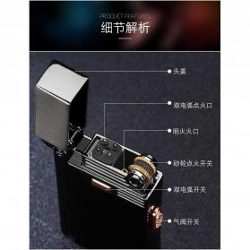 Firetric Korek Api Gas Elektrik Pulse Plasma Arc Lighter 2 in 1 - AB007 - Black - 8