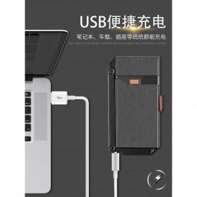 Firetric Korek Api Gas Elektrik Pulse Plasma Arc Lighter 2 in 1 - AB007 - Black - 9