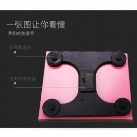 Timbangan Badan Digital Desain Kartun 180Kg - BD-DZM308 - Baby Pink - 7