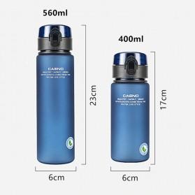 Casno Botol Minum Leak Proof 400ml - Gray - 2