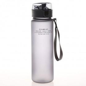 Casno Botol Minum Leak Proof 400ml - Gray - 3