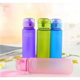 Casno Botol Minum Leak Proof 400ml - Gray - 4