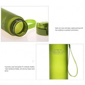 Casno Botol Minum Leak Proof 400ml - Gray - 8