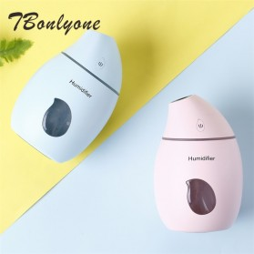 Taffware Air Humidifier Aromatherapy Oil Diffuser Mango Design 160ml - HUMI TB-94 - White - 2