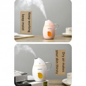 Taffware Air Humidifier Aromatherapy Oil Diffuser Mango Design 160ml - HUMI TB-94 - White - 5
