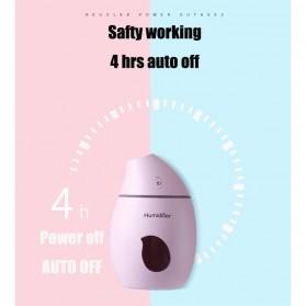 Taffware Air Humidifier Aromatherapy Oil Diffuser Mango Design 160ml - HUMI TB-94 - White - 7