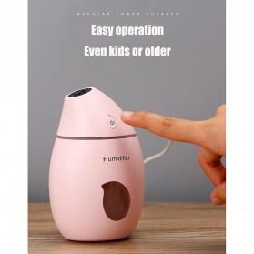 Taffware Air Humidifier Aromatherapy Oil Diffuser Mango Design 160ml - HUMI TB-94 - White - 8