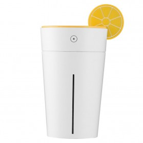 Air Humidifier Aromatherapy Lemon Cup Design 200ml - HK-832 - Yellow