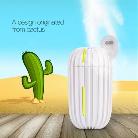 Taffware Air Humidifier Aromatherapy Cactus Design 200ml - HUMI H838 - White - 3