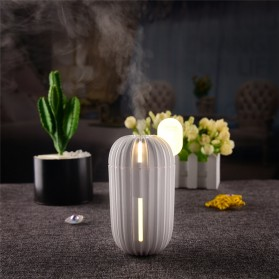 Taffware Air Humidifier Aromatherapy Cactus Design 200ml - HUMI H838 - White - 6