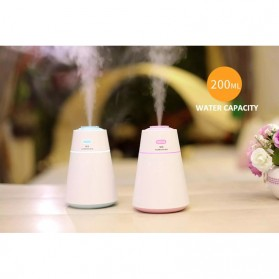 Taffware Air Humidifier Aromatherapy Creative Design 200ml - HUMI HMT-M3 - Black - 4