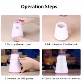 Taffware Air Humidifier Aromatherapy Creative Design 200ml - HUMI HMT-M3 - Black - 10