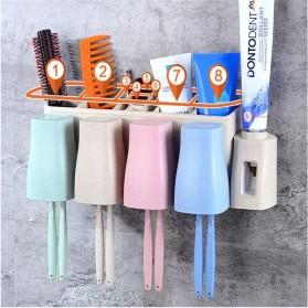 Dispenser Odol Modern dengan 2 Holder Sikat Gigi & Gelas - RA776C - 3