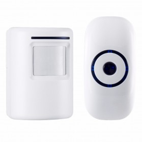 Smatrul Bel Pintu Wireless Doorbells 36 Nada with Motion Sensor - JAC000424 - White