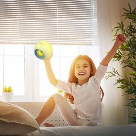 Jam Alarm Digital Sensor Temperature LED RGB Night Light- JL-C018 - White - 5