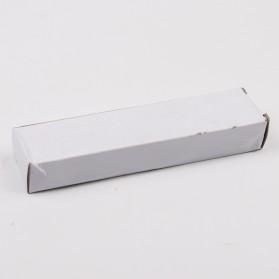 Pisau Lipat Self Defense Multifungsi Hidden Portable Knife Survival Tool EDC with Keychain - A3012 - Black - 5